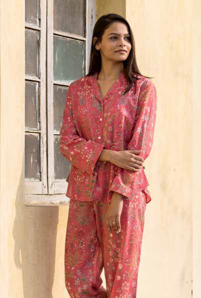 Garden Red Vanessa PJ Set