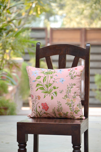 Garden Rose Cushion Cover, Bedroom - Shop Handprint