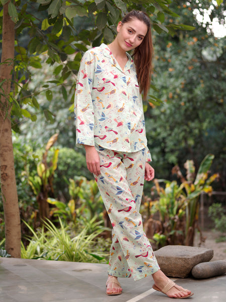 Killi Grey Vanessa PJ Set, Pajamas - Shop Handprint