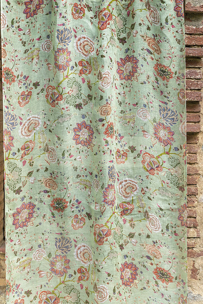 Malabar Celery Linen Curtain, Curtains - Shop Handprint