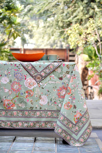 Malabar Celery Tablecloth, Table - Shop Handprint