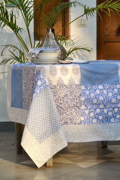 Ocean Patchwork Tablecloth