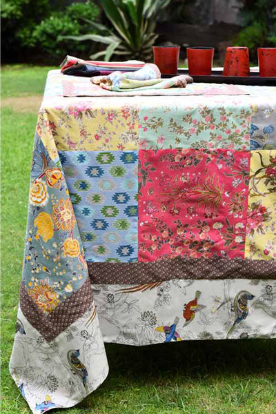 Patchwork Mirage Tablecloth, Table - Shop Handprint