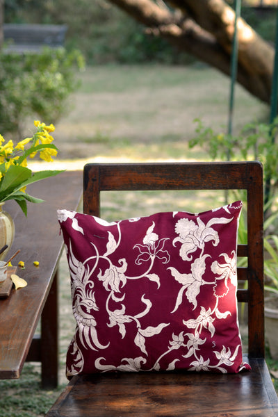 Phoenix Red Cushion Cover