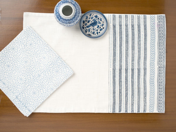 Santorini Reversible Placemats, Table - Shop Handprint
