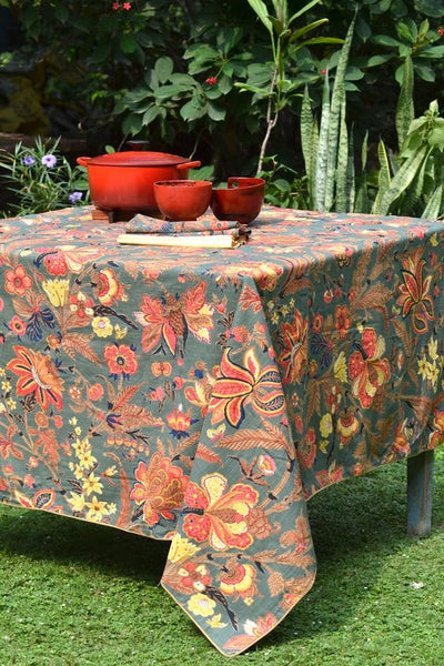 Hawaii Forest Tablecloth, Table - Shop Handprint