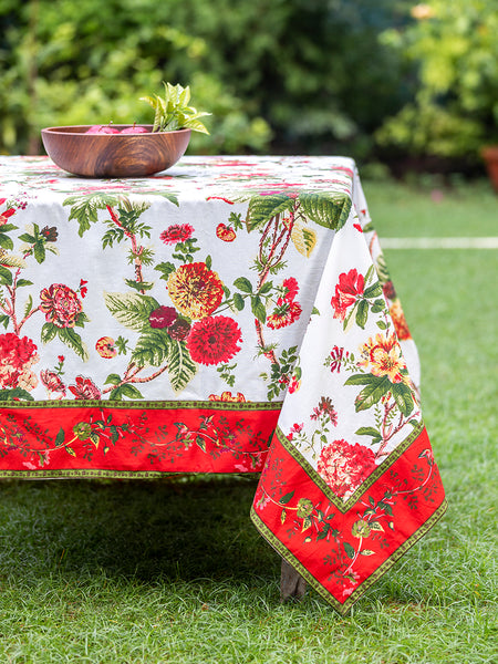 Chelsea Holly Tablecloth