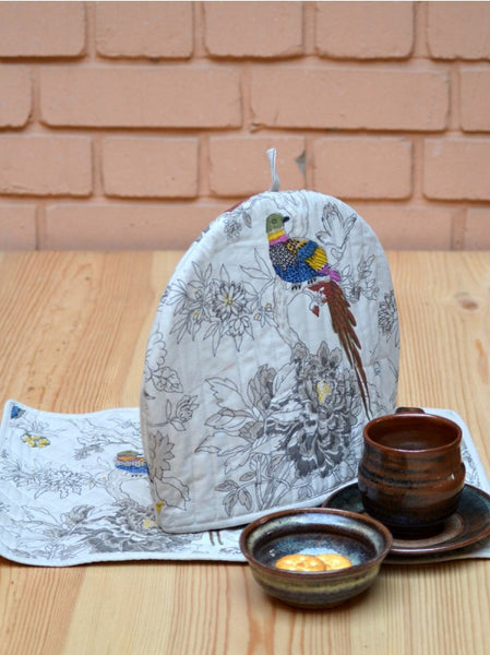 Bird Sand Tea Cozy Set, Kitchen - Shop Handprint