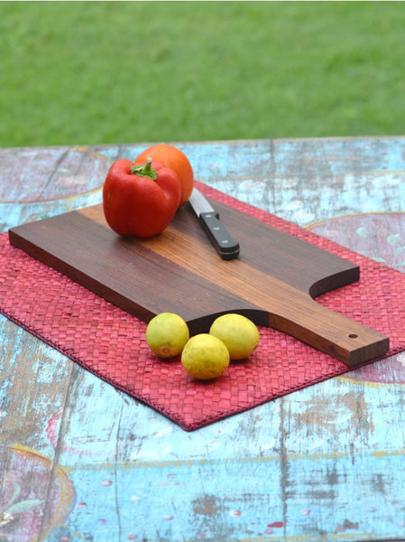 Indian Rosewood Cutting Board, Kitchen - Shop Handprint