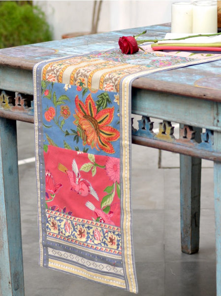 Estelle Patchwork Table Runner, Table - Shop Handprint