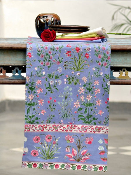 Garden Azure Table Runner, Table - Shop Handprint