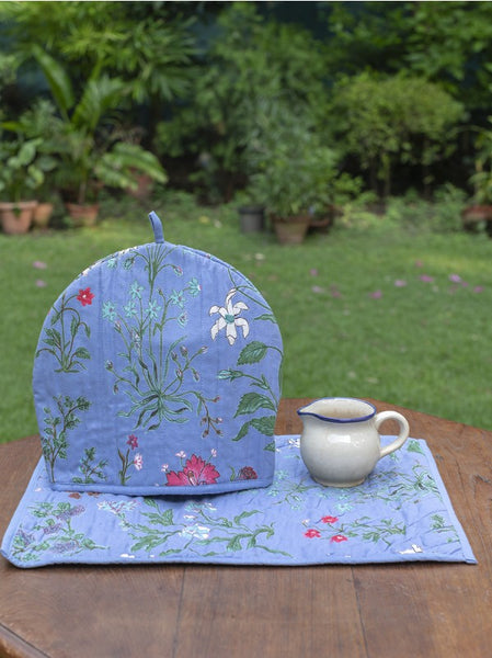 Garden Azure Tea Cozy Set