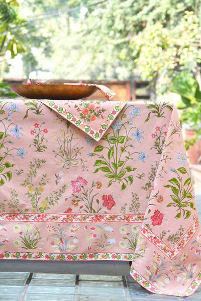 Garden Rose Tablecloth, Table - Shop Handprint