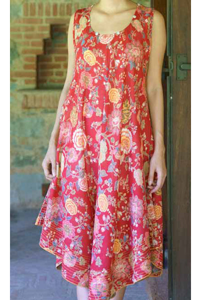 Malabar Red Ann, Dresses - Shop Handprint