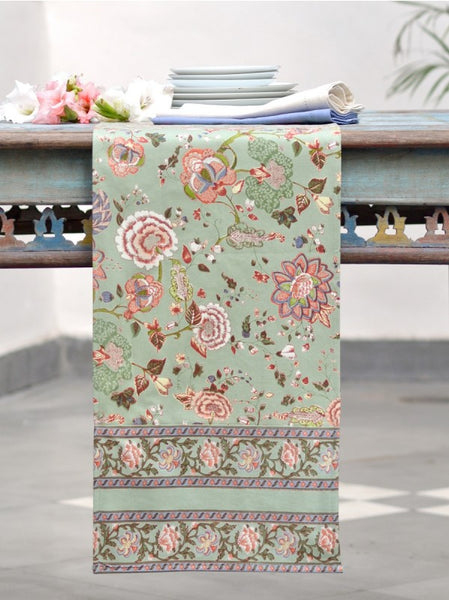 Malabar Celery Table Runner, Table - Shop Handprint