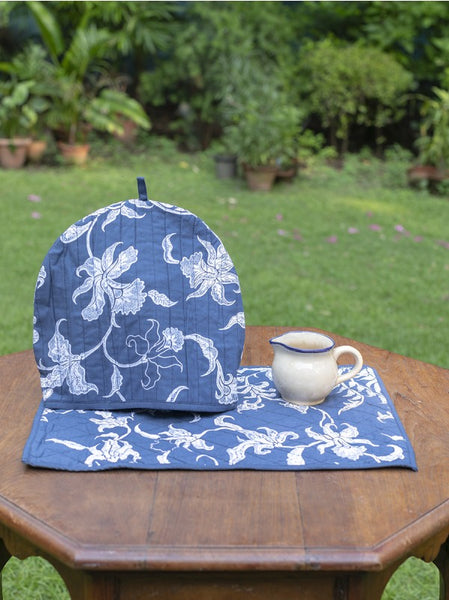Phoenix Denim Tea Cozy Set