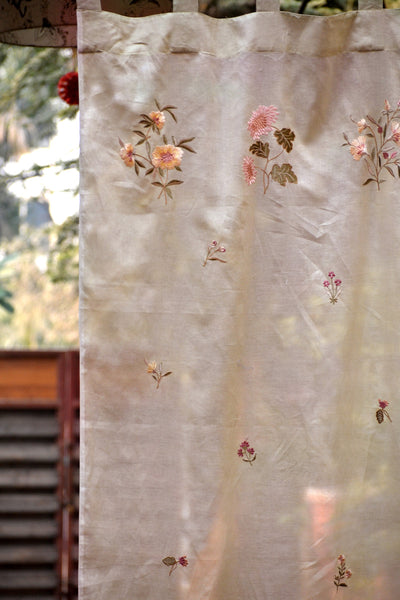 Versailles Beige Curtain, Curtains - Shop Handprint