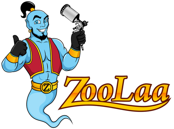 ZooLaa the Genie at ZooLaa Auto Supply