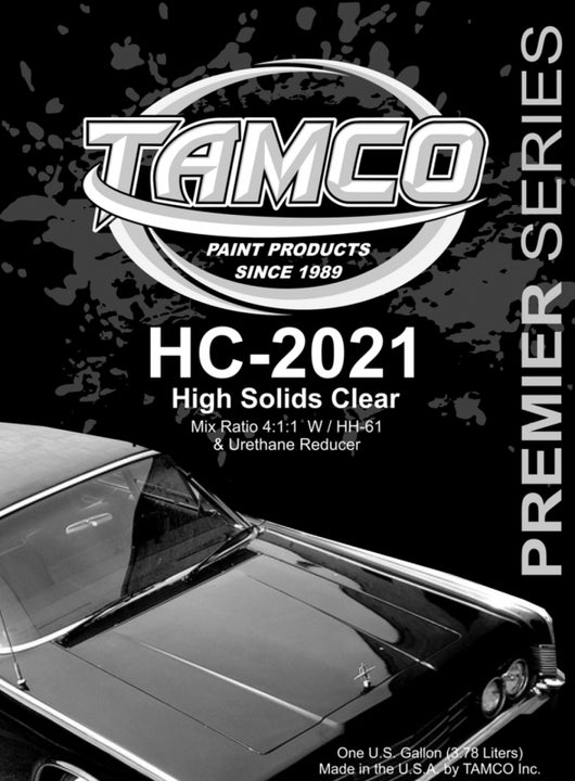 High Solids 4:1:1 Clearcoat - 1 Quart Kit HC-2021