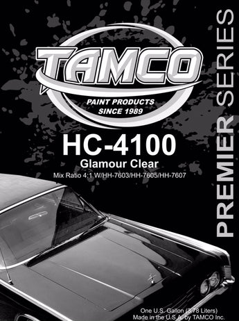 Glamour 4:1 Clearcoat - 1 Quart Kit HC-4100