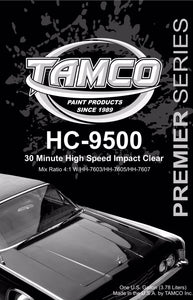 High Speed Impact 30 Minute 4:1 Clearcoat - 1 Quart Kit HC-9500