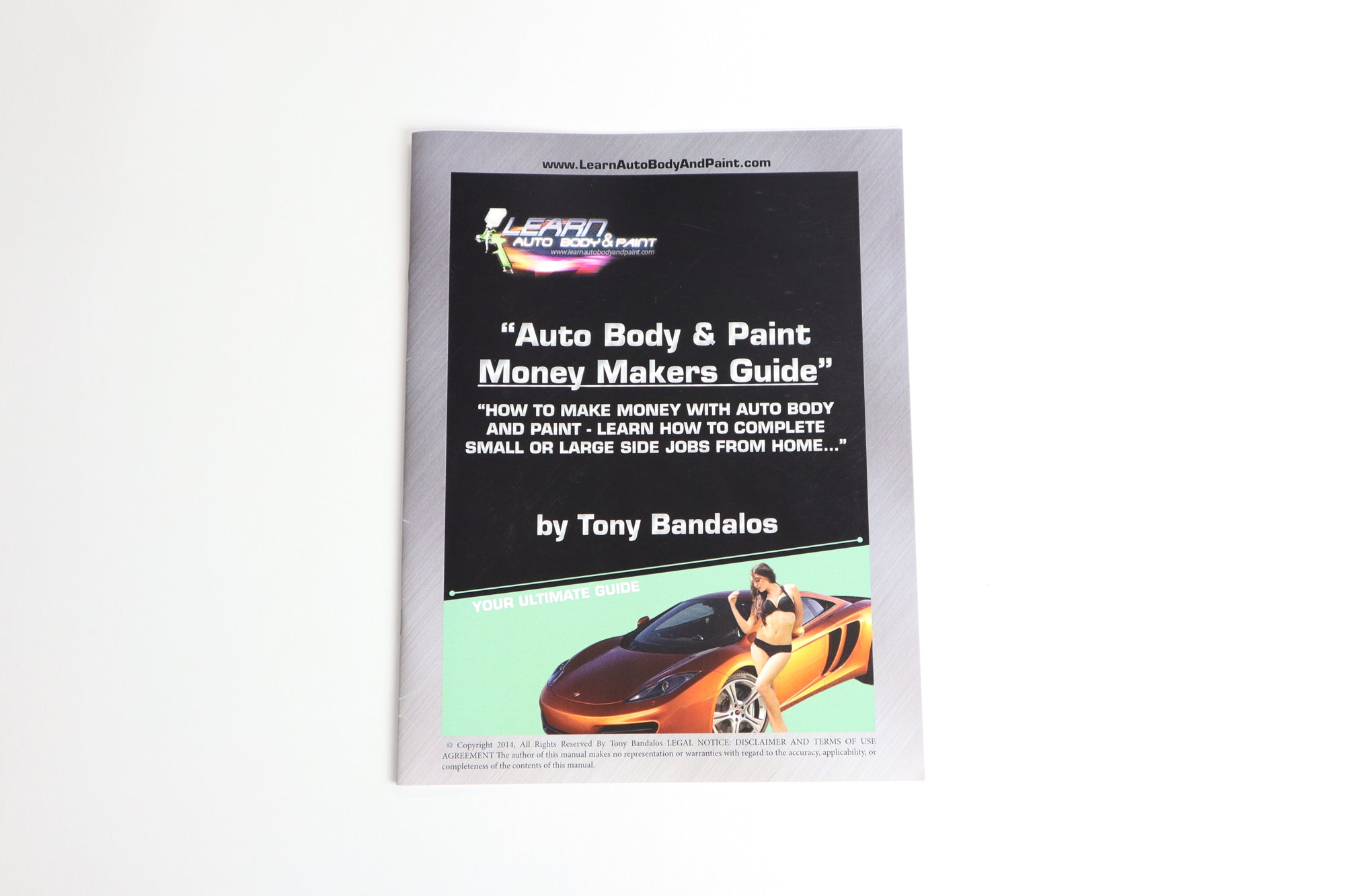 Learn Auto Body And Paint Home Study Course 15 Dvd 4 Manual
