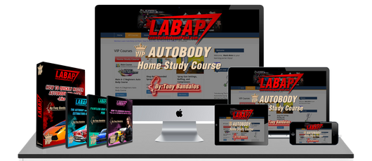 Learn Auto Body and Paint VIP Online Lifetime Home Study Course
