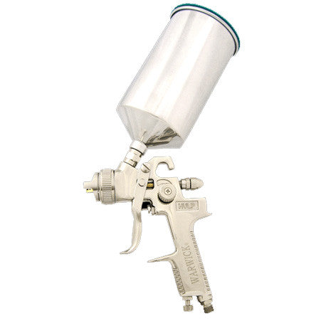 Warwick 980H Crown HVLP Spray Gun Kit (Solvent only)