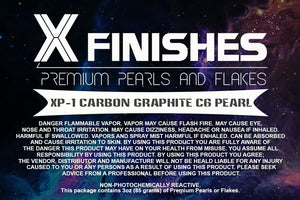 X Finishes Carbon Graphite C6 Pearl 85g/3oz Pack