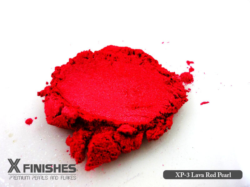 X Finishes Lava Red Pearl 85g/3oz Pack