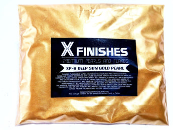 X Finishes Deep Sun Gold Pearl 85g/3oz Pack