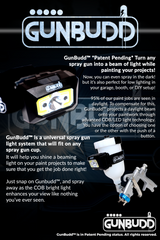 Spray paint gun light - GunBudd light system - Lumaiii