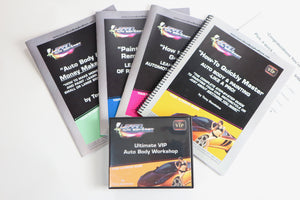 Learn Auto Body and Paint Home Study Course 15 DVD 4 Manual VIP Kit