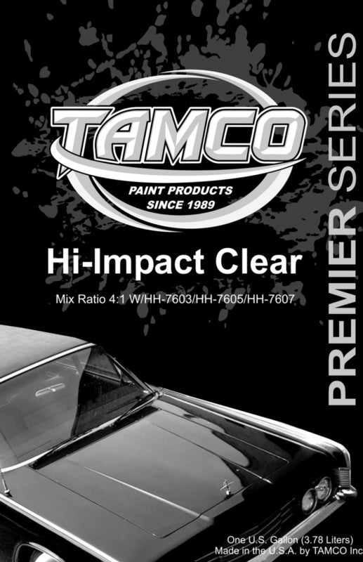 Hi-Impact 4:1 Clearcoat - 1 Quart Kit