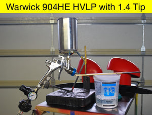 Warwick 904HE Spray Gun Review