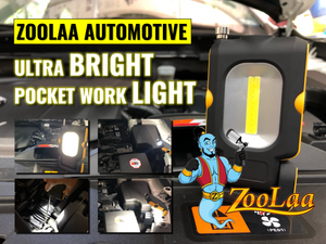 ZooLaa's Automotive Ultra-bright Pocket Work Light