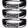 Image of Masonic Stainless Steel Bracelet w/ Magnetic Buckle