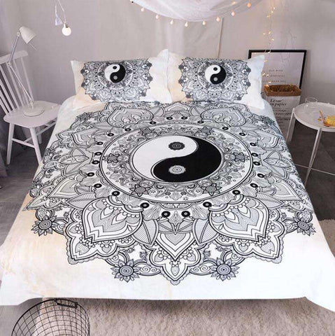 YinYang Mandala Bedding Set