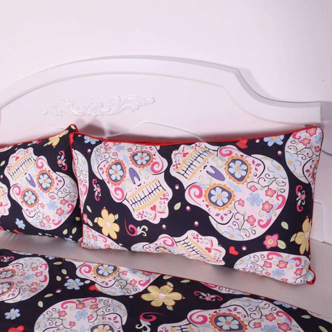 Sugar Skull All over Print Bedding Set