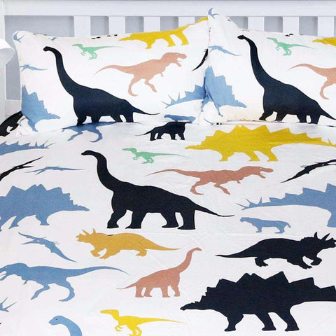 Dinosaur Colorful Bedding Set