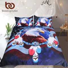 Image of American Bald Eagle Bedding Set