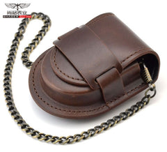 Classic Pocket Watch Holder With Chain