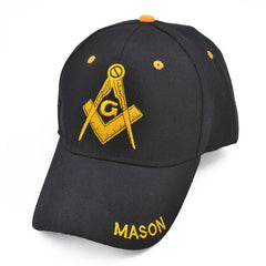 Image of Freemason Embroidery Baseball Cap