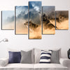 Image of Howling Wolf Pack 5PC Canvas
