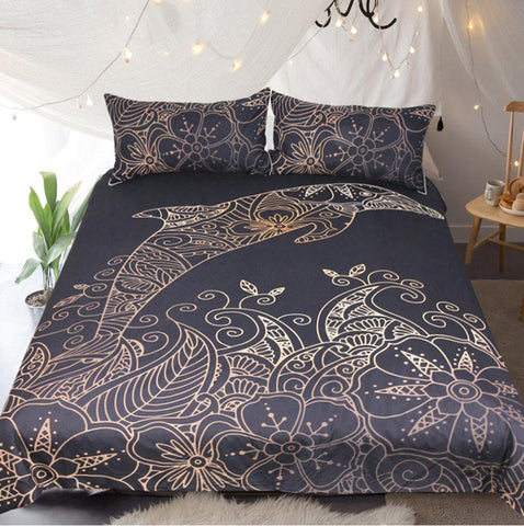 Dolphin Sea Life Bedding Set