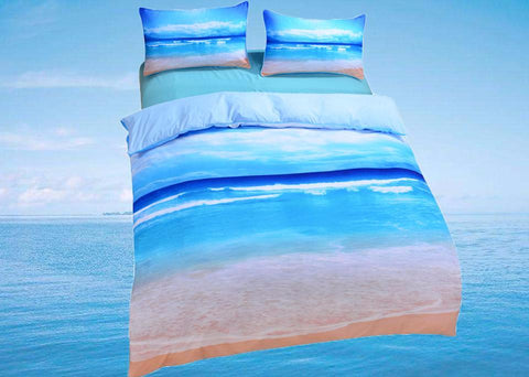 Caribbean Beach 5PC Bed Set