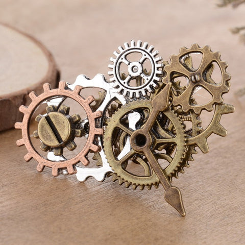Industrial Gear Steampunk Ring