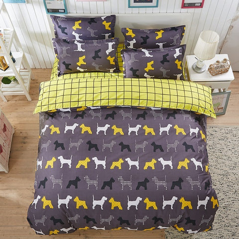 Schnauzer Doggy Bedding Set