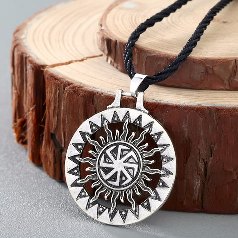 Little Sun Slavic Pendant