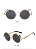 Image of Designer Steampunk Metal Frame Sunglasses